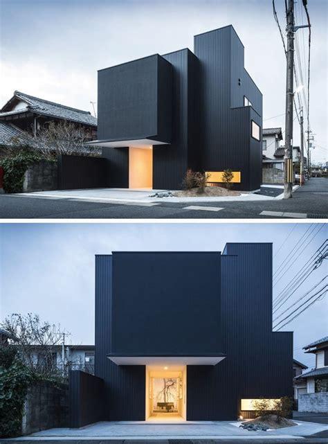 Einfache Moderne Häuser by Haus Au 223 Enfarben 14 Moderne Schwarze H 228 User Aus Der