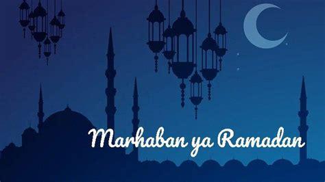 kumpulan logo marhaban ya ramadhan  ucapan selamat puasa  hijriah  tribunstylecom