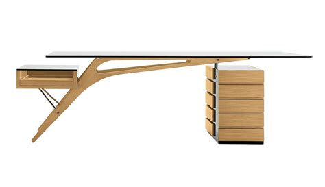 table bureau verre zanotta cavour writing desk by carlo mollino design is this