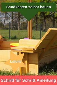Sandkasten Selber Bauen Anleitung : sandkasten selbst bauen schritt f r schritt anleitung ~ Watch28wear.com Haus und Dekorationen