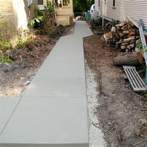 concrete sidewalks grafton concrete patio installation