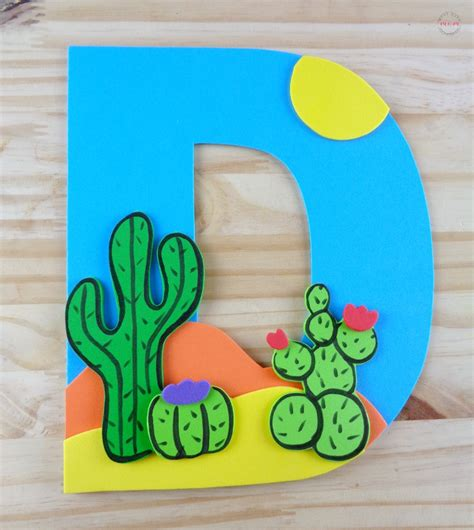 Letter Of The Week Letter Craft! D Is For Desert Must
