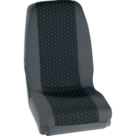 siege auto conducteur housse de siège 4 pièces petex 30070012 polyester