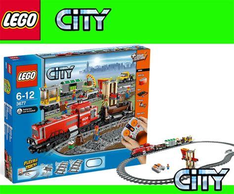 lego city  rc cargo train diesel locomotive power