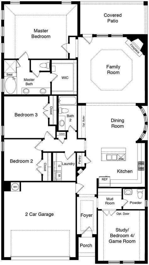oak home plan  dr horton  morningstar aledo isd