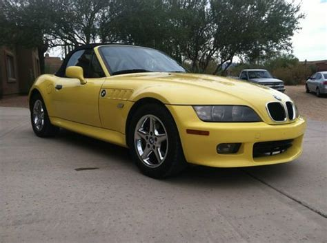 Buy Used 2000 Bmw Z3 Roadster / Dakar Yellow / 68k Miles