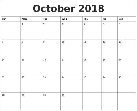 november 2018 calendar pic october calendars