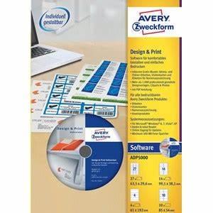 Avery Design Pro For Windows 7 Avery Zweckform Adp5000 Design Print Software Günstig Kaufen