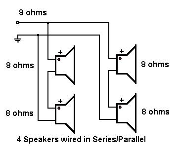 Wiring 8 Ohm Speaker In Series by About To Wire 8x10 Cab Will This Result In 4 Ohms