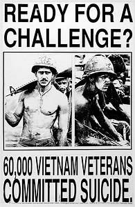 U0026quot 60 000 Vietnam Veterans Committed Suicide U0026quot  1999   Propagandaposters