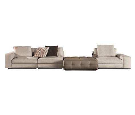 Modular Settees by Seating System By Minotti Modular Sofa Systems