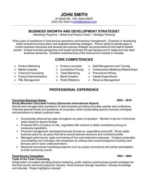 sle resume landscape business owner sle resume