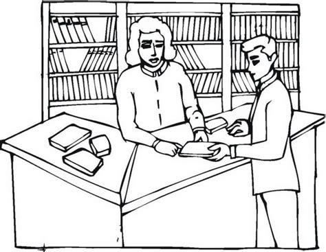 library coloring pages national library week coloring pages coloring home