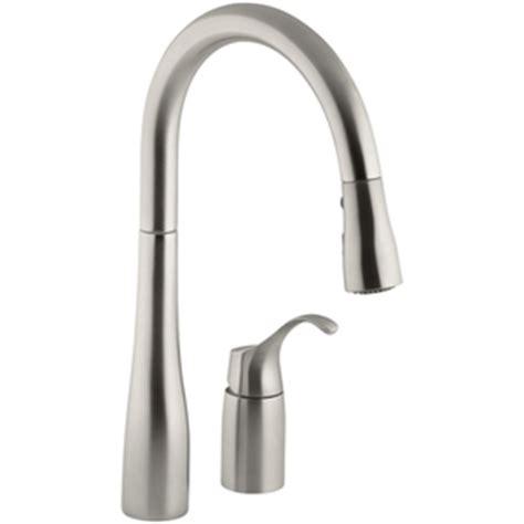 kohler simplice faucet valve replacement k647 vs simplice pull out spray kitchen faucet vibrant