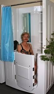 Sitzbadewanne Mit Dusche : senioren dusche sitzbadewanne sitzwanne duschbadewanne mit t r pool a108d ebay ~ Watch28wear.com Haus und Dekorationen