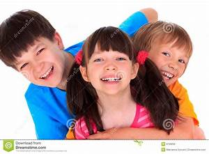 Happy Siblings stock photo. Image of boys, kids ...