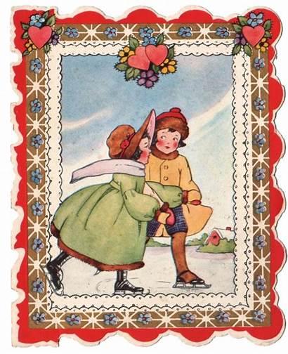Valentine Clip Graphics Cards Fairy Children Valentines