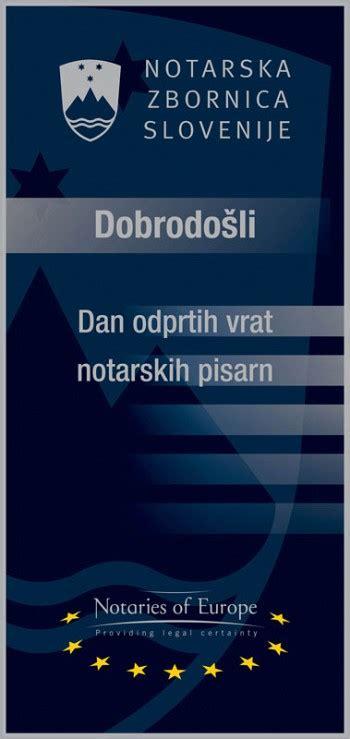 25. oktobra je Evropski dan pravosodja - Aktualno - Notarska zbornica Slovenije