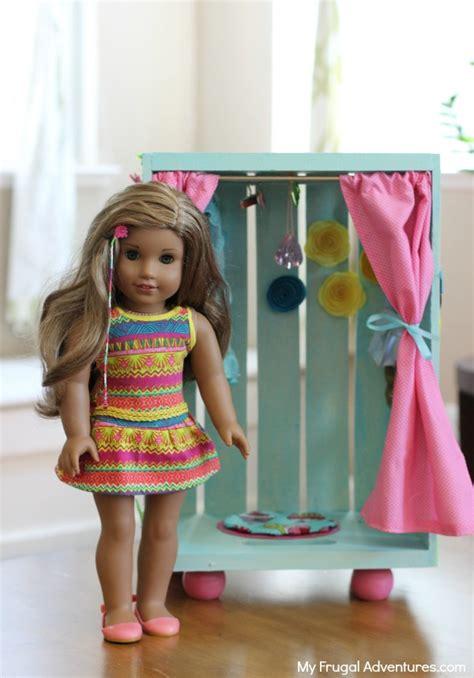 diy american doll closet my frugal adventures