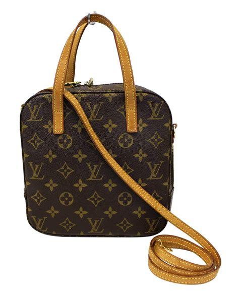 louis vuitton monogram spontini  hand shoulder bag