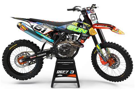 Custom Dirt Bike Graphics
