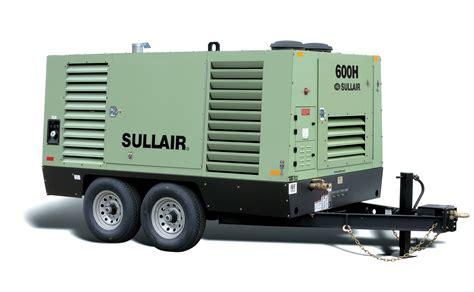 Diesel Portable Air Compressor Sullair