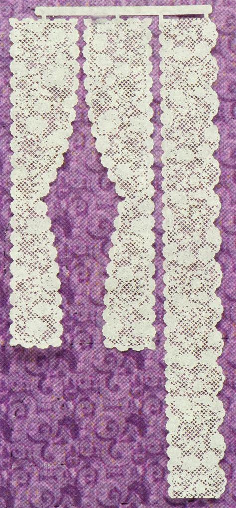 rose  single panel lace curtains stewart
