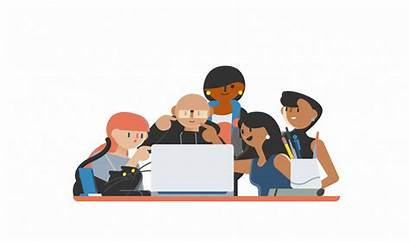 Project Meeting Canvas Citigroup Illustration Animation Gifs