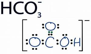 What Is The Lewis Structure Of Hco3