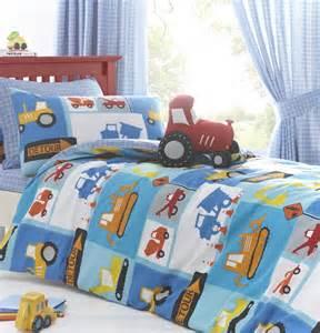 digger tractor boys bedding quot detour quot duvet cover set sheet or curtains ebay