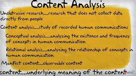 content analysis youtube
