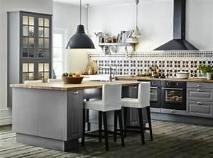 45 idees en photos pour bien choisir un ilot de cuisine With salle À manger contemporaine avec cuisine aménagée ou Équipée