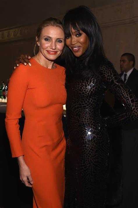 Cameron Diaz And Naomi Campbell Made A Glamorous Duo At