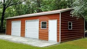 24x36 car parking garage 14 tall metal garage price With 24x36 metal garage