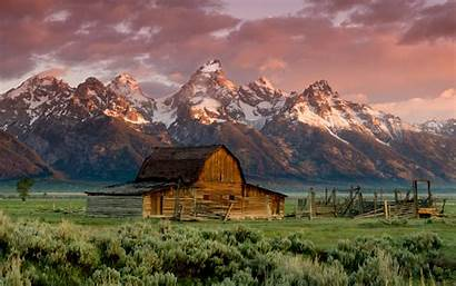 Backgrounds Wallpapers Nature Teton Grand Ultra National