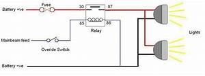 How To Wire A Relay For Off