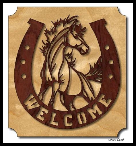 scroll saw designs scrollsaw workshop welcome horseshoe scroll saw pattern