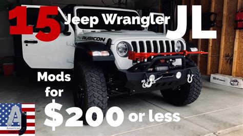 jeep wrangler jl mods     youtube