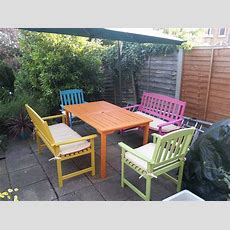 Candy Summer Garden Furniture · A Painted Table