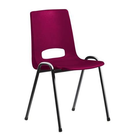 chaise coque plastique chaise coque plastique bordeaux