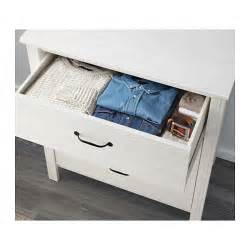 brusali chest of 3 drawers white 80x93 cm ikea