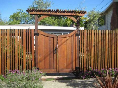 Fence - Gate : Awesome Fence Gate Design Ideas