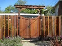 fence gate design Awesome fence gate design ideas   Home Interior & Exterior