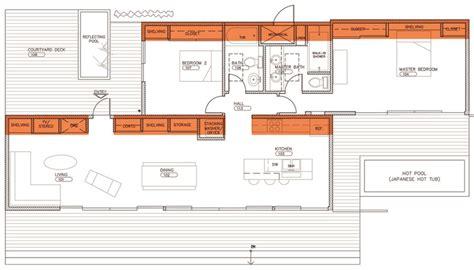 house plans floor plans glidehouse floorplan at sunset magazine 39 s celebration
