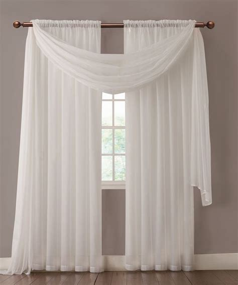 White Sheer Voile Curtains by Best 25 Sheer Curtains Ideas On Hanging