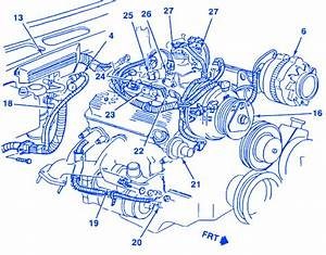 Chevrolet 1500 Truck 4 3 1989 Engine Electrical Circuit