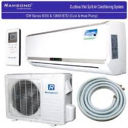 Ramsond 37GWX 12500 BTU Ductless Mini Split AC   Heat Pump