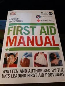 St John Ambulance 10th Edition Manual First Aid For Sale