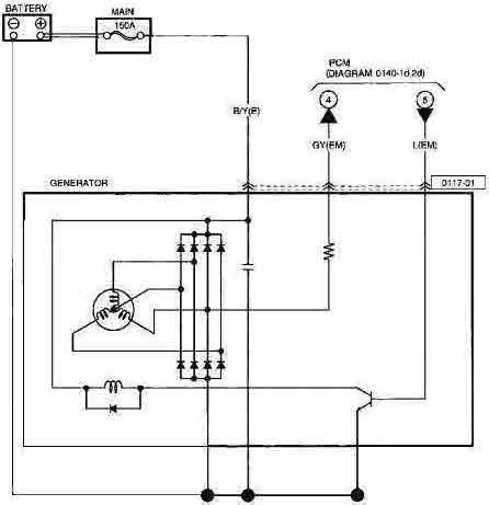 2006 Mazda 3 Wiring Diagram by 2006 Mazda 3 Fusion Alternator Wiring