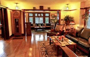 arts and crafts style homes interior design american craftsman